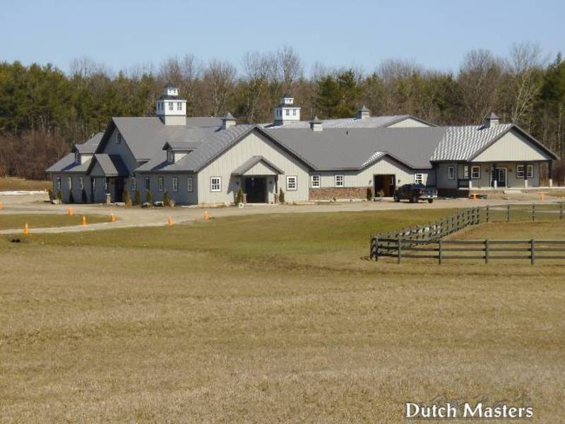 Con Brio Farm Dutch Masters Horse Barn Builders Ontario