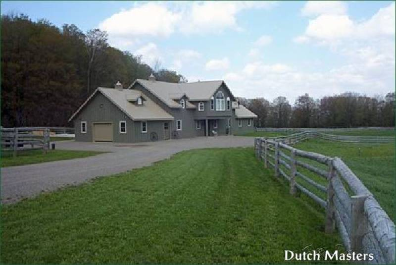Georbon Farm Dutch Masters Horse Barn Builders Ontario