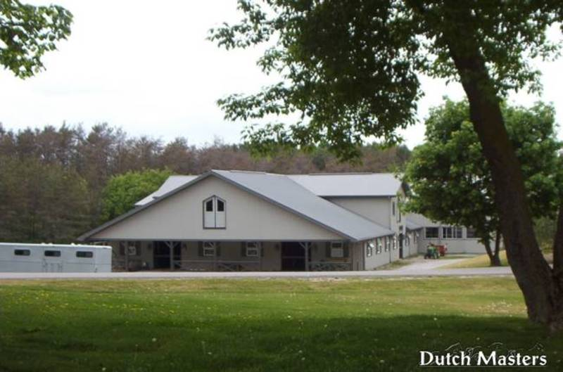 Grandview Farms Dutch Masters Horse Barn Builders Ontario