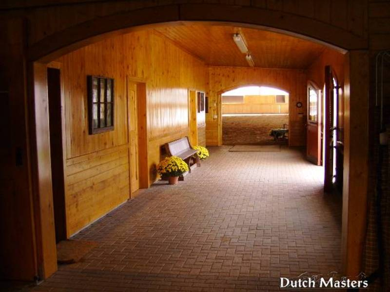 Hollyoaks Farm Dutch Masters Horse Barn Builders Ontario