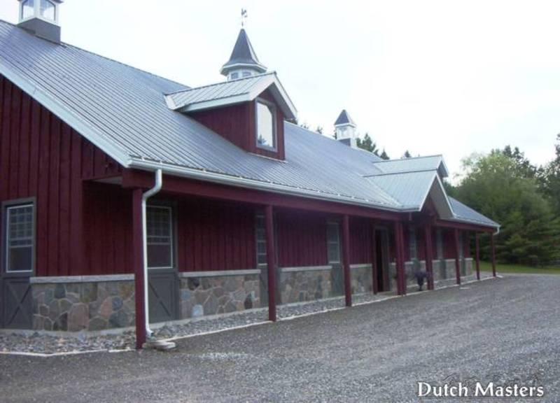 Westover Farm Dutch Masters Horse Barn Builders Ontario