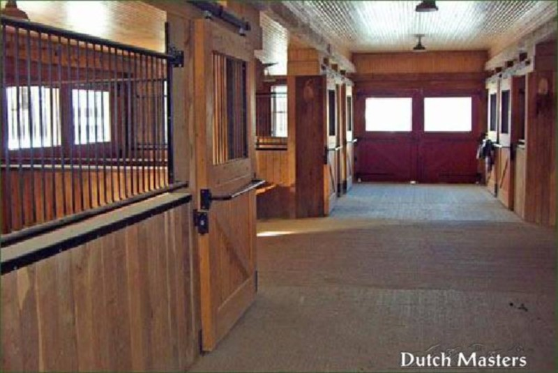 Coffey Creek Restoration Dutch Masters Horse Barn