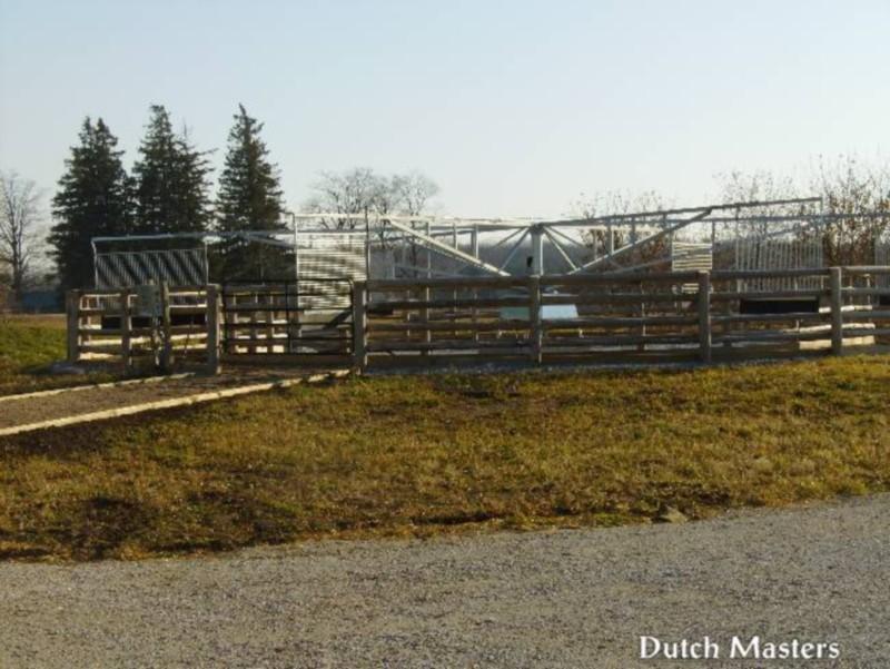 Angelstone farm dutch masters horse barn builders ontario for Barn builders ontario
