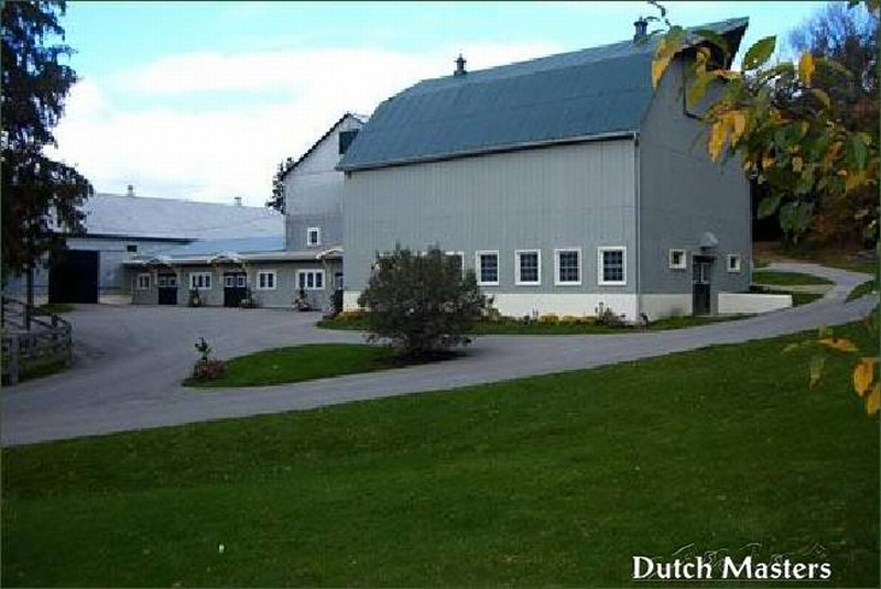 Richardson Farms Dutch Masters Horse Barn Builders Ontario