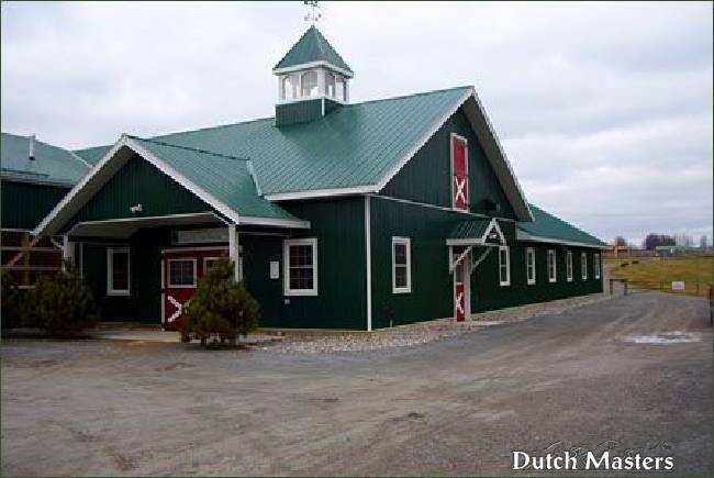 Windreach Farm Dutch Masters Horse Barn Builders Ontario