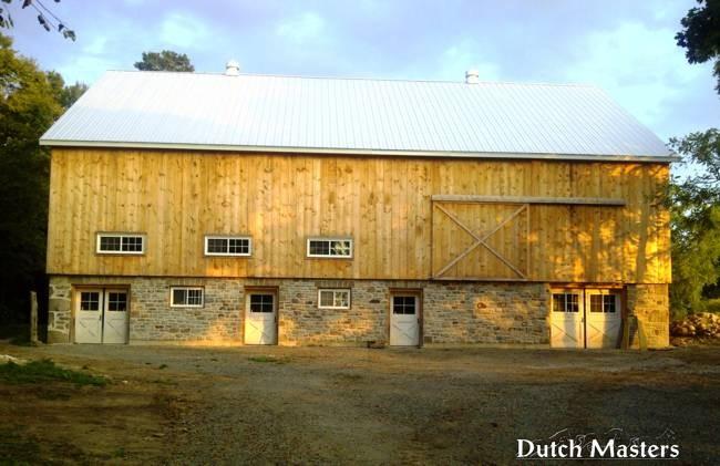 Campbellville Hobby Farm Dutch Masters Horse Barn