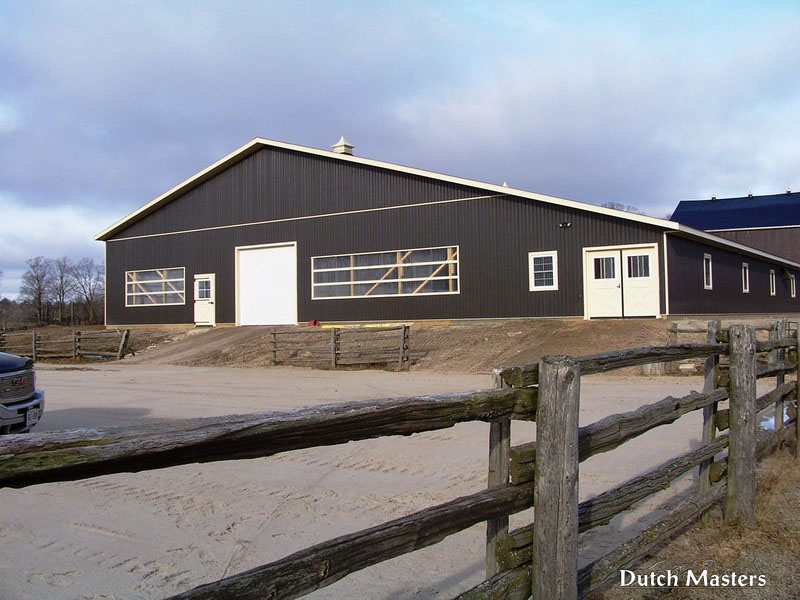 Hunterview Farm Dutch Masters Horse Barn Builders Ontario