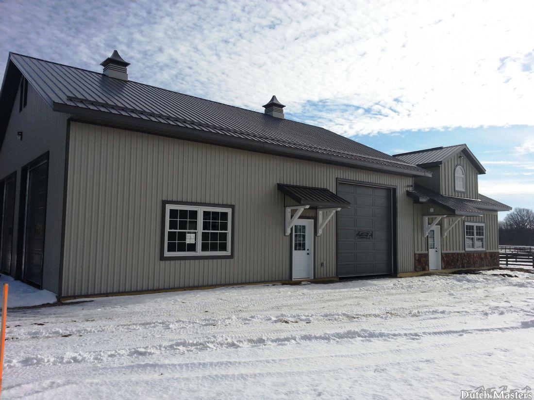 Con brio farm dutch masters horse barn builders ontario for Barn builders ontario