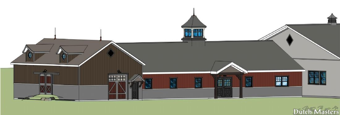 Heritage Look Stable Dutch Masters Horse Barn Builders