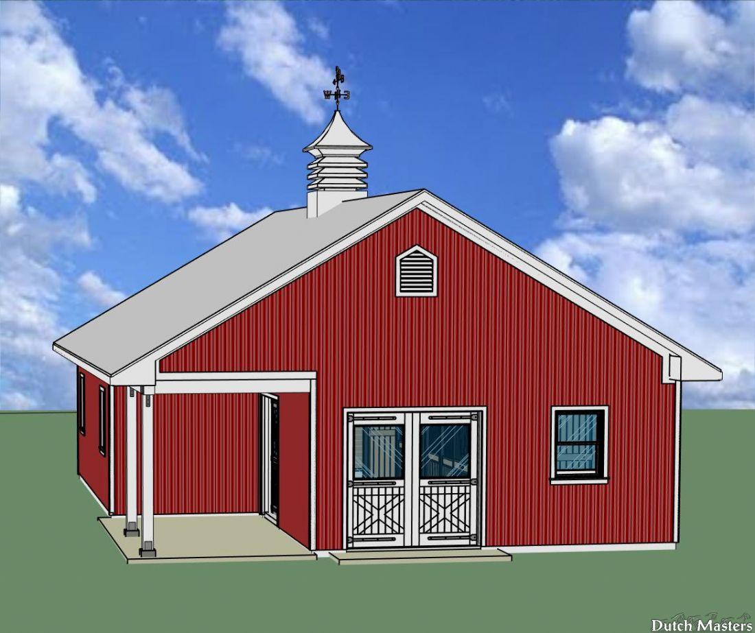 Backyard Hobby Barn Dutch Masters Horse Barn Builders